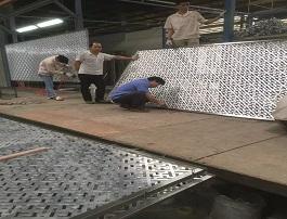 会所铝雕屏风定制