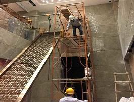 西式风格 铝板雕刻屏风厂家定制