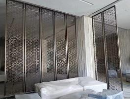 镂空铝板雕刻屏风厂家