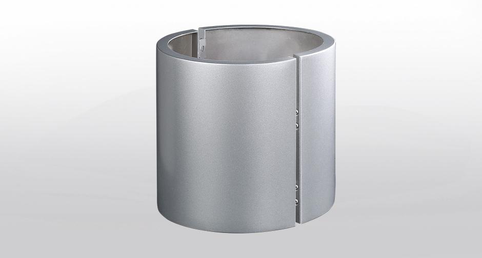 无缝包柱铝单板
