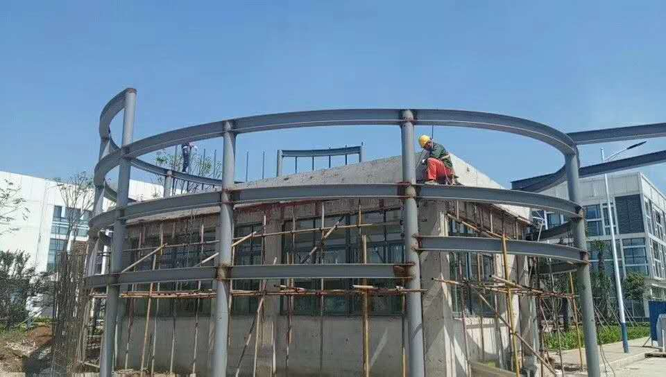 索菲亞家居湖北有限公司大门头外墙立面改造工程
