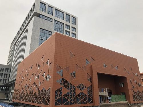 广西柳州市城中区为人民服务中心外墙立面工程项目