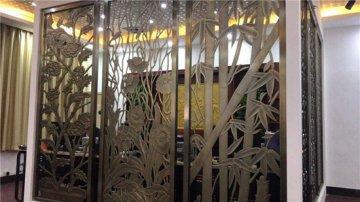 酒店铝屏风隔断