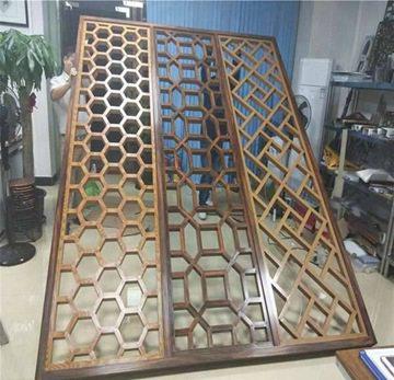 复古中式铝屏风厂家哪家的质量好