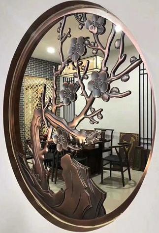茶餐厅中式铝屏风价格