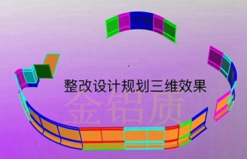 大信新都汇宁邦广场店双曲铝单板案例