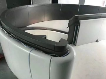 旋转楼梯造型铝单板定制