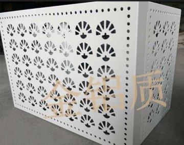 扇形雕刻空调罩定制