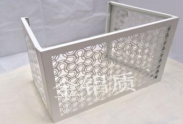 镂空装饰铝合金空调罩