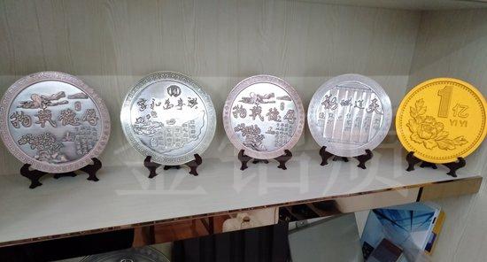 中式铝浮雕艺术摆件