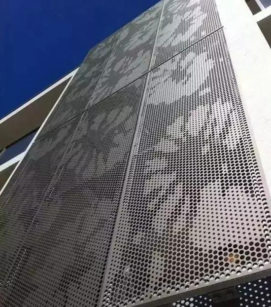 铝板幕墙装饰出来的艺术效果