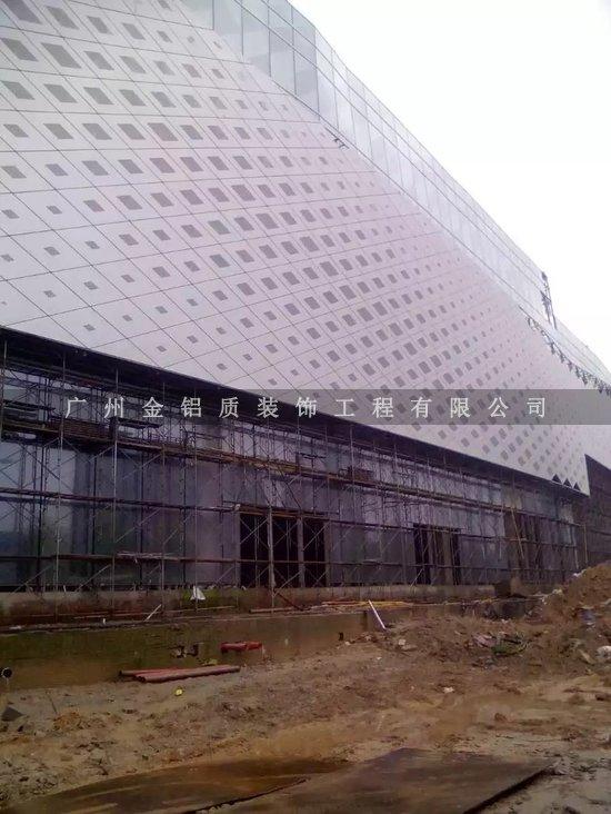 广东冲孔铝单板幕墙公司 铝板幕墙专业定做 量大从优