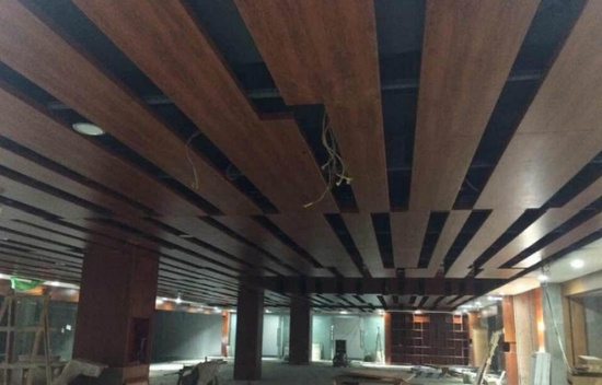 木纹铝单板吊顶,木纹铝单板订制,木纹铝单板幕墙厂家定制