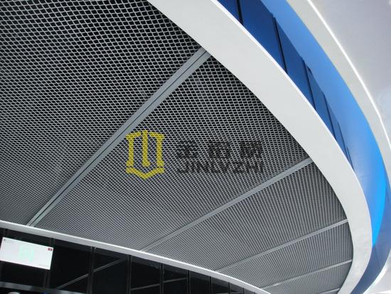 拉网铝单板吊顶_网格铝单板厂家按图定制