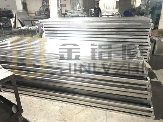 百叶型空调罩生产厂家 金铝质