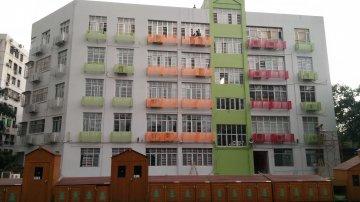 惠州机关幼儿园空调外机罩案例