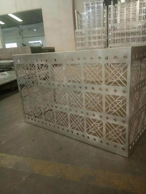 雕花铝合金空调罩