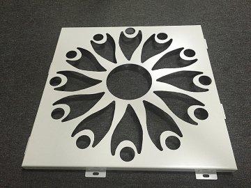 艺术镂空雕花铝单板