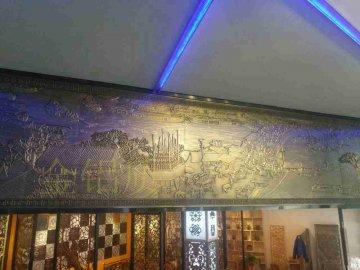 金属铝浮雕壁画装饰背景墙